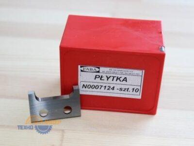 Пластина твердосплавная 30х20х2 HW (Faba) N0007124