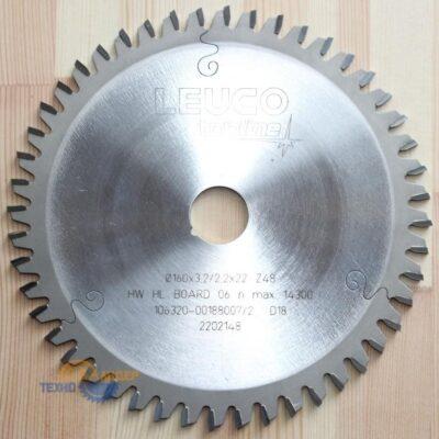 Пила дисковая кромочная HW 110*3.6/2.5*32 Z=20 WS (Leuco) 192478