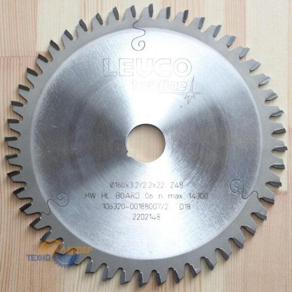 Пила дисковая кромочная HW 110*3.6/2.5*22 Z=20 WS (Leuco) 192477