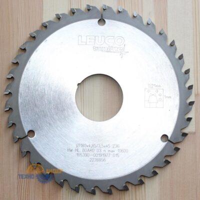 Пила дисковая подрезная 180х4.8/5.65х45 Z=36 KO-WS (Leuco) 191977