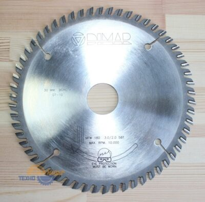 Пильный диск на торцовку 180х3.0/2.0х30 z=58 90105406