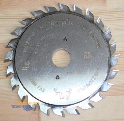 Пильный диск LI16M FA3 125×2.8-3.6×20 Z=12+12 (Freud)