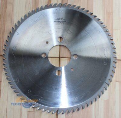 Пильный диск PI-521VS 400*4.4/3.2*80 Z=72 GA HW 2/9/130+2/19/120 P2101205-15 (FABA)