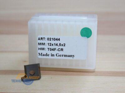 Пластина 12х14.5х2мм R2 R T04F (Tigra) 021044