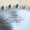 Диск подрезной 180х30_4.4-5.4/3.0 z36 GR/GS PI-408S FABA S0802003 12516