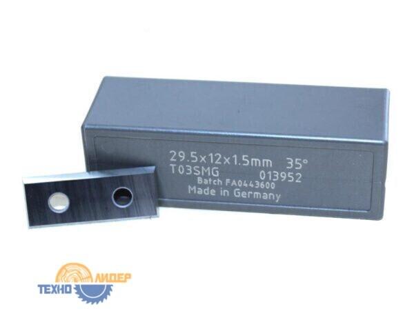 Нож сменный по ДСП, МДФ 29.5х12х1.5 z4 T03SMG Tigra 013952