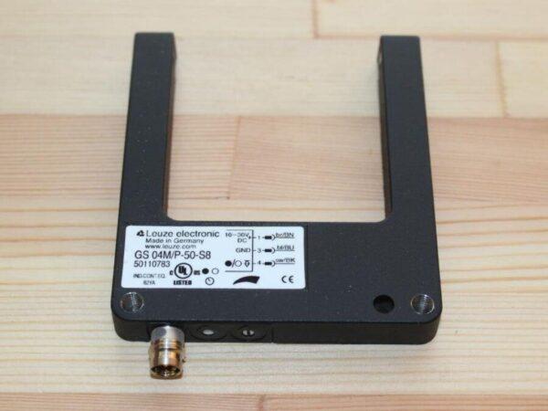 3-601-07-0200 Датчик световой вилочный GS 04M/P-50-S8 замена для 4-008-61-0795