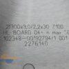 Диск пильный по ЛДСП, МДФ 300×3.0/2.2×30 Z=100 G5 Leuco TOPLINE 192794 12783