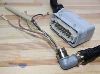 2-082-80-3691 Штекер с кабелем для узла клеенанесения