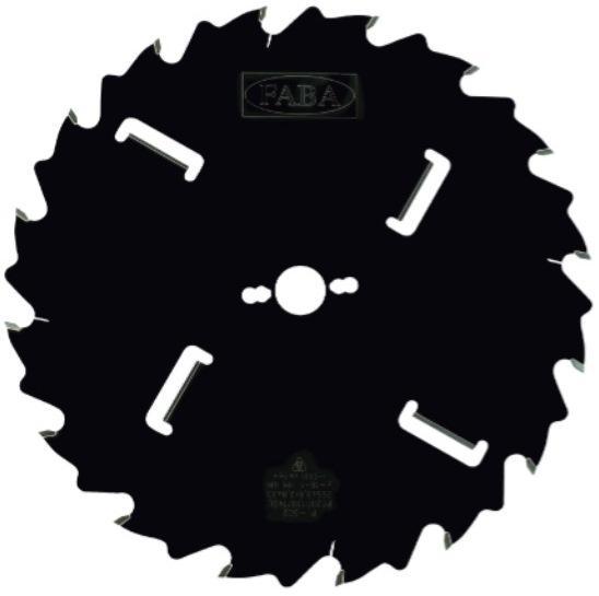 Пильный диск PI-502 350*3.0/2.0*80 Z=20+4 KW4/20*5 GM HW (FABA) P0200305
