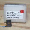 Пластина радиусная 15х14.5х2 R2 T04F-CR LH (для SCM) 022307 Tigra 13120