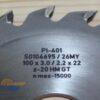 Пильный диск PI-401 100*3.0/2.2*22 Z=20 GT HW (FABA) S0104695 13177