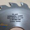 Пильный диск PI-401 100*3.0/2.2*22 Z=20 GW HW (FABA) S0104696 13181