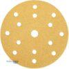 Шлифовальный диск на бумажной основе липучка GOLD 150мм 15 отв P40-500 23611099