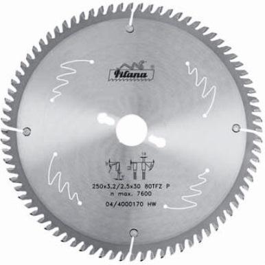 Диск по алюминию HW Pilana 350×3.6/2.8×30 z108  87-11 TFZ P