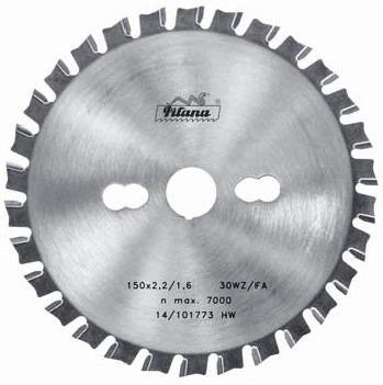 Пильный диск тв/сп 210х30*2.4/1.8 z=40 (Pilana) 88 WZ/FA