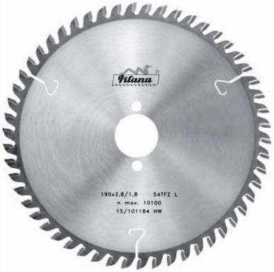 Диск пильный HW Pilana 190×2.8/1.8×30 z54  91 TFZ L