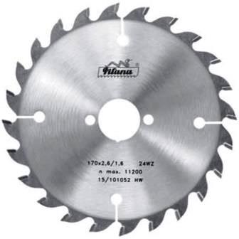 Пильный диск тв/сп 190х30*2.6/1.6 Z=30 (Pilana) 91 WZ