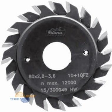 Пильный диск подрезной тв/сп 125х20*2.8-3.6 z=12+12 (Pilana) 93.1 FZ HP