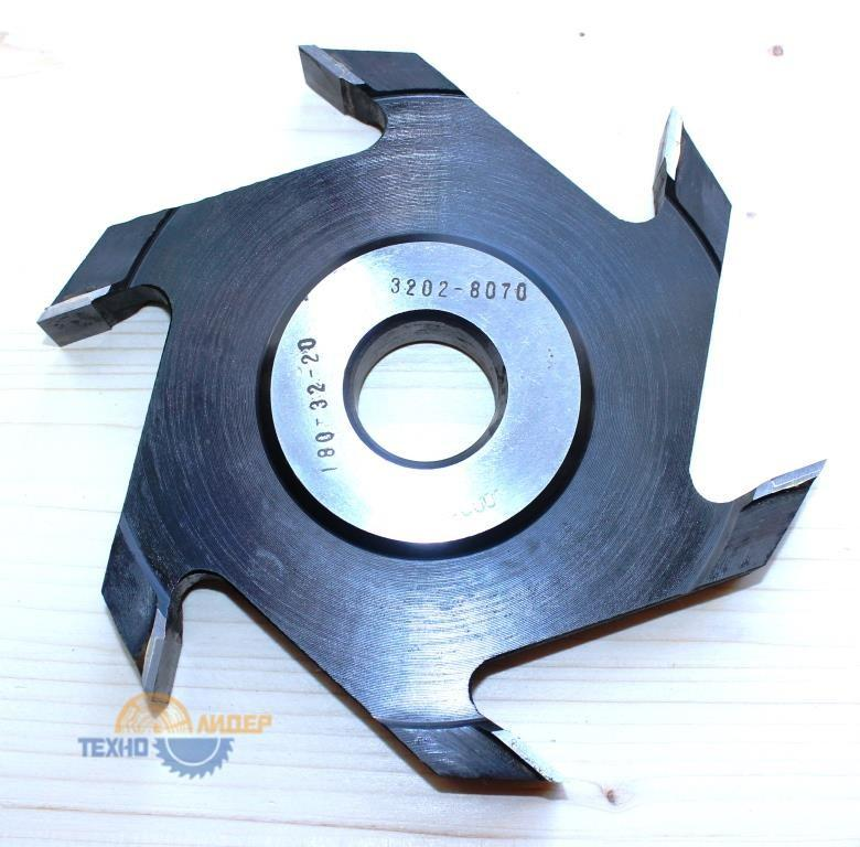 Фреза дисковая пазовая т/с 3202-8070 180*32*20 мм z=6