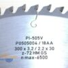 Диск поперечного пиления 300x30_3.2/2.2 z72 GS PI-505V FABA P0505004 13909
