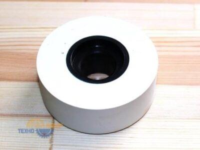 Прижимной ролик полиуретановый термостойкий 70х20х25 мм с проточкой