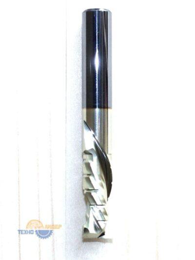 Фреза спиральная HM: Z2+2 компрессионная R 12×32 s12x90 std