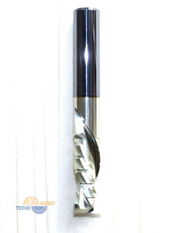 Фреза спиральная НМ: Z2+2 компрессионная R 6х22 S 6х60 std