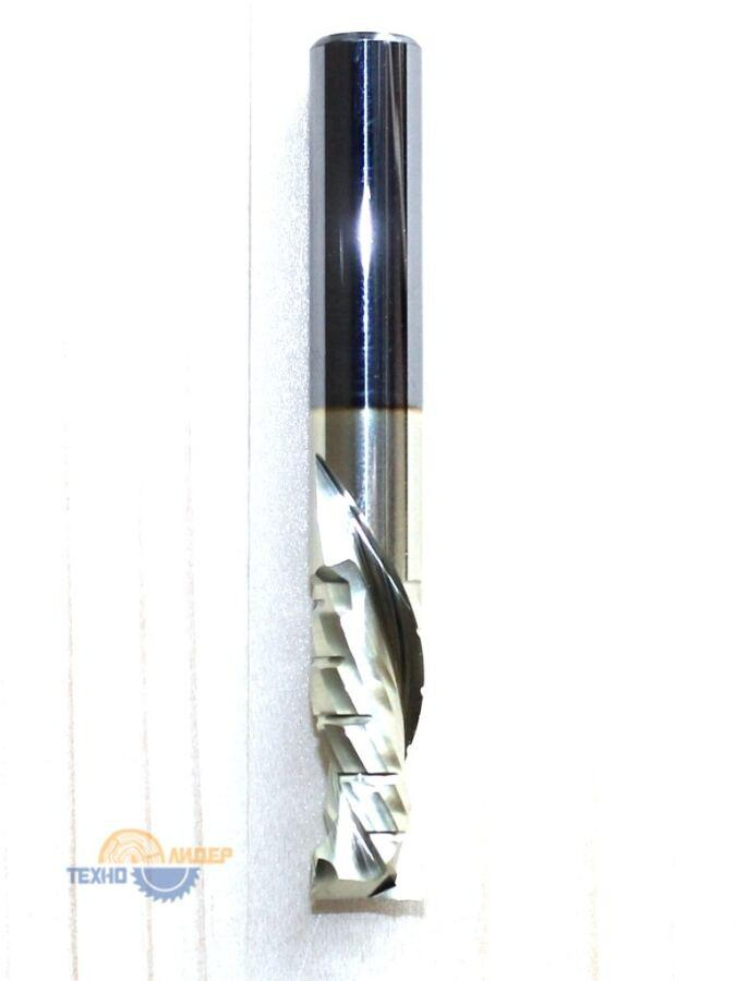 Фреза спиральная НМ: Z2+2 компрессионная R 12х42 S 12х90 std