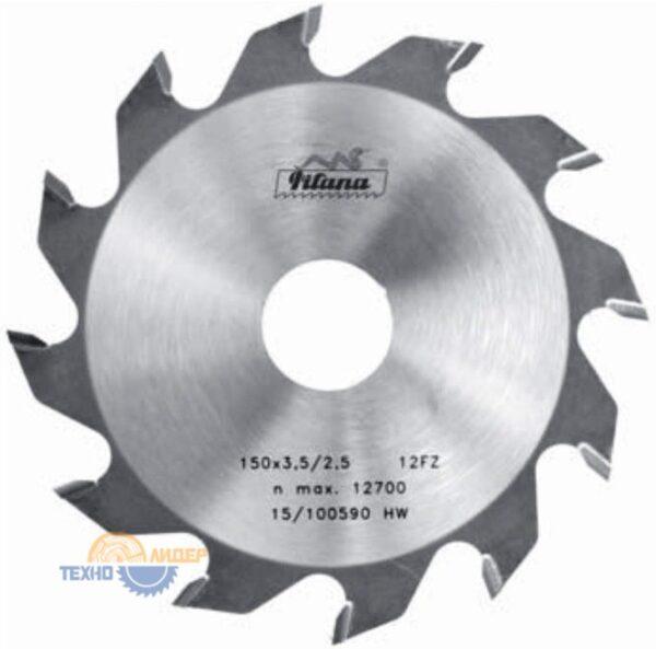 Диск пазовый 200x30_5.0/3.5 z32 92 FZ Pilana