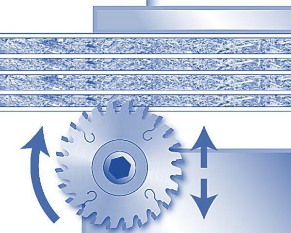 Подрезные пильные диски для раскроечных центров - фото ткатегории
