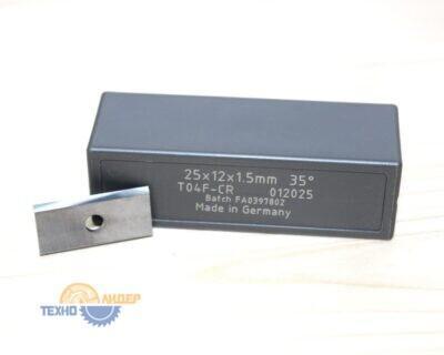 Пластина 25х12х1.5мм T04F (Tigra) 012025