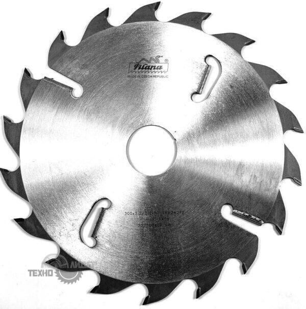 Диск на многопил HW 300×3.2/2.2×30 z24+4 94.1 FZ Pilana