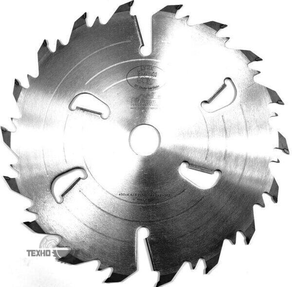 Диск на многопил HW 450×4.4/3.2×50 z18+6 94.4 FZ Pilana