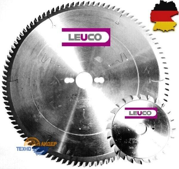 Комплект форматных пил LEUCO 300×30 Z=96 TR-F / 120х22 Z=12+12 ES