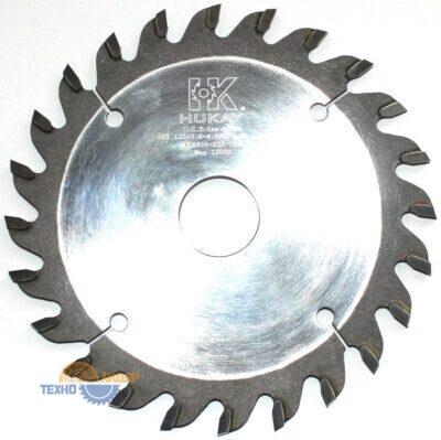 Пильный диск подрезной 120*3.0-4.0/2.2*22*24T (HUKAY)