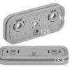 10.01.12.00012 Резиновая накладка для блока (верхняя) VCSP-O 120x50x15.5