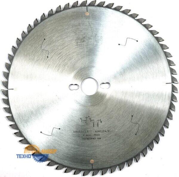 87 WZ-FA-K PLEXI 300-30-60 - пильный диск Пилана по искусственному камню