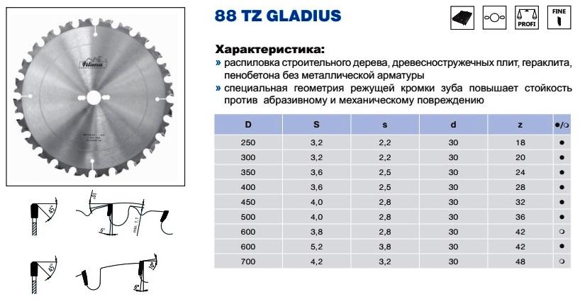 88 TZ - пильные диски по иск. камню 2