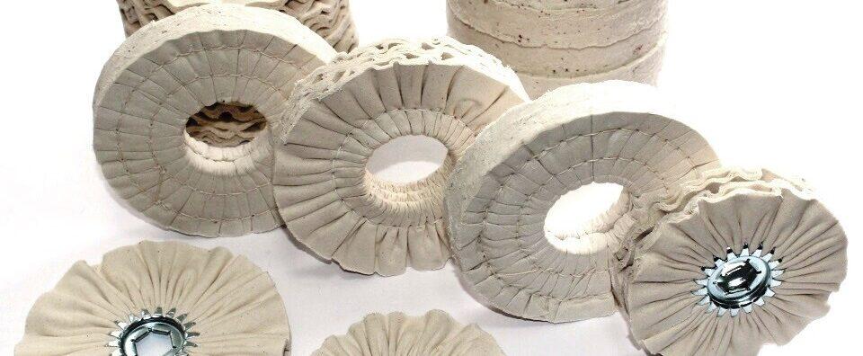 Фото полировальных кругов для кромкооблицовочных станков