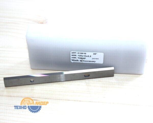 Нож сменный по массиву 120х13х2.2 T08MF Tigra 012010