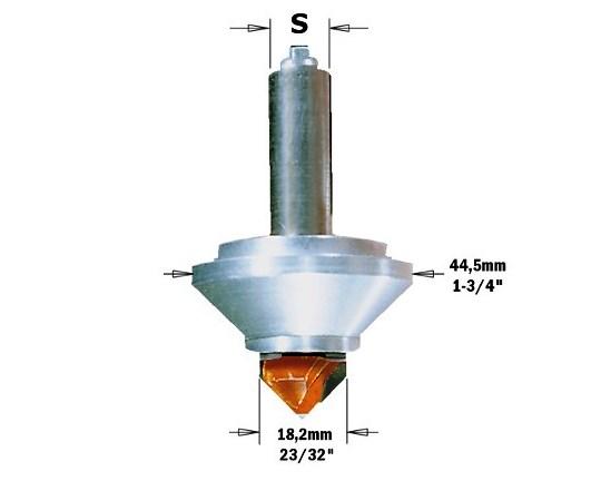 RCS-BIT8 Фреза для гравировки 3D в комплекте S=8