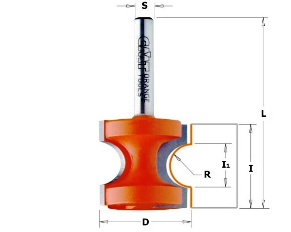 954.507.11 Фреза профильная (Катушка) S=12 D=34.9×35
