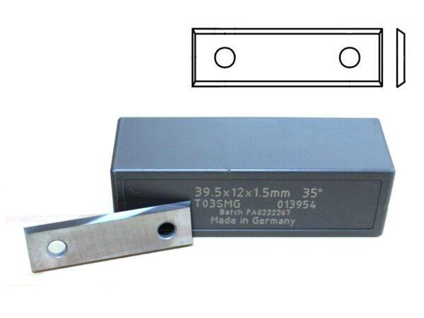 Ножи 4-х сторонние 2 отверстия 232