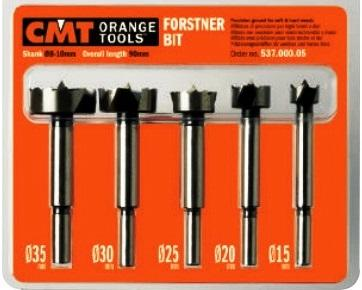 Комплект свёрл Форстнера SP 5 шт. D=15-20-25-30-35 S=8-10 RH 537.000.05
