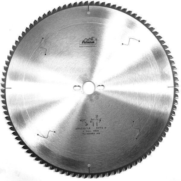 Диск по алюминию HW 400×3.6/2.8×30 z96 87-13 TFZ N Pilana