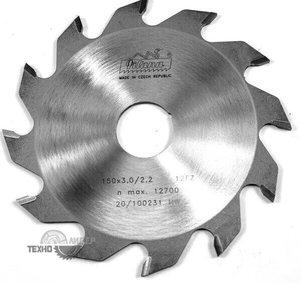 Диск пазовый 150x30_3.0/2.2 z12 92 FZ Pilana