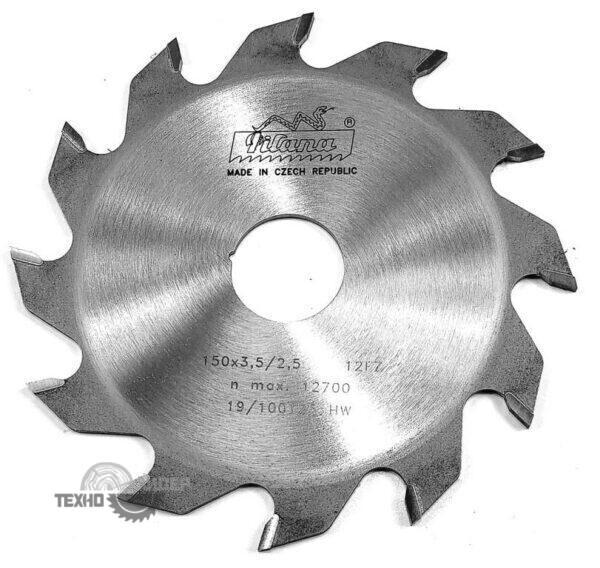 Диск пазовый 150x30_3.5/2.5 z12 92 FZ Pilana