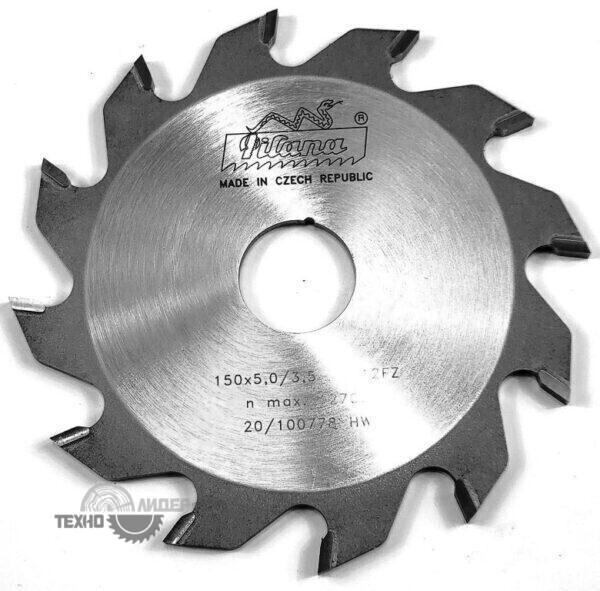 Диск пазовый 150x30_5.0/3.5 z12 92 FZ Pilana